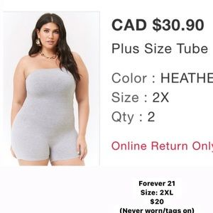 Plus size clothes - gently used